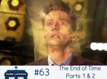 The Tenth Doctor regenerates
